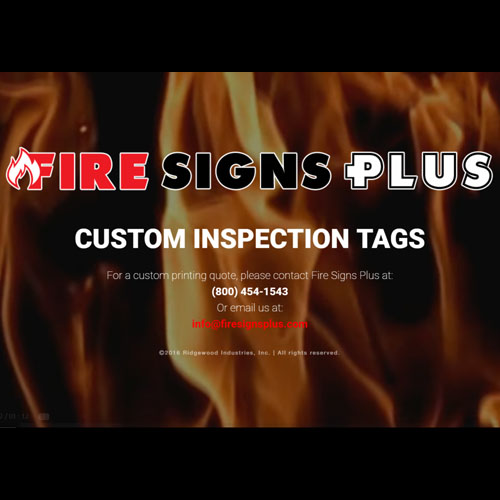 Fire Signs Plus Web Design